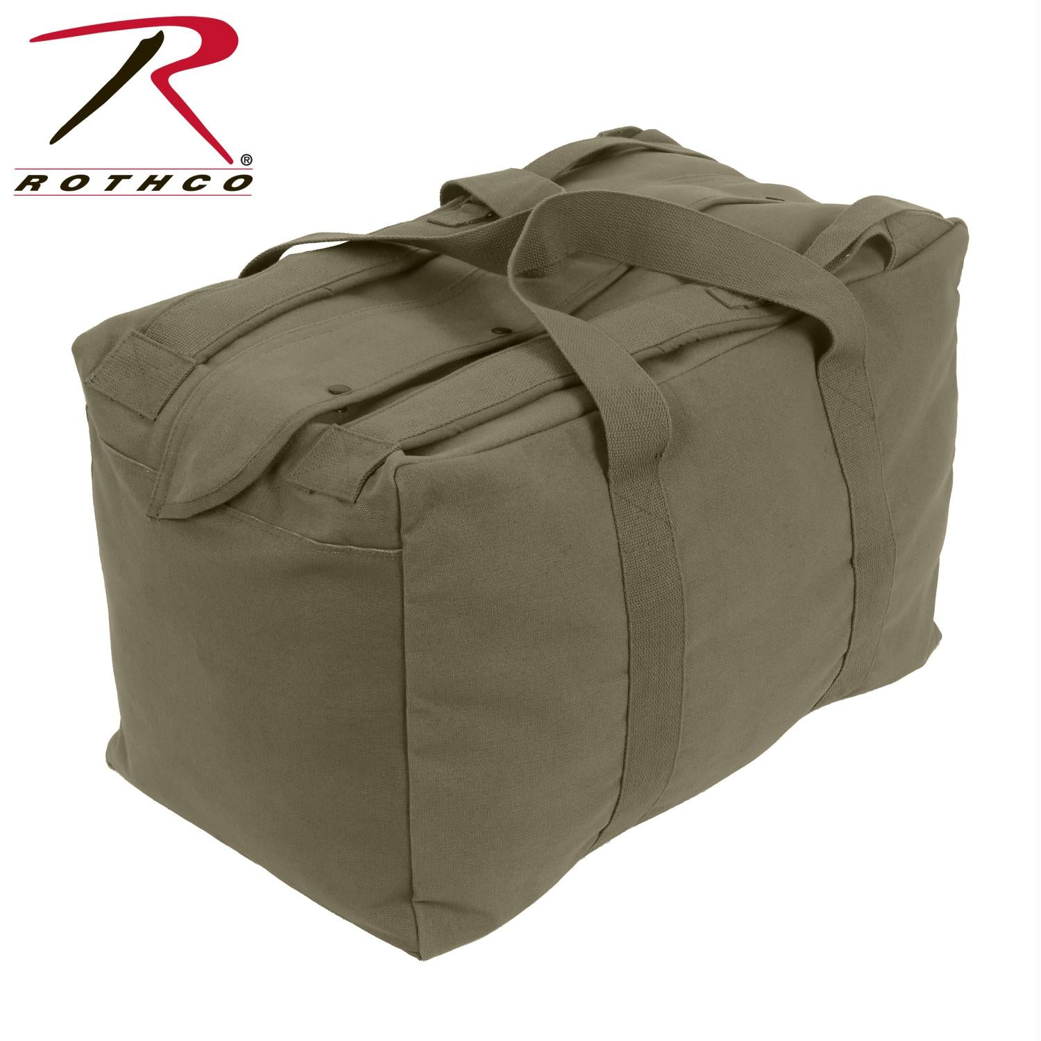 Rothco Canvas Mossad Type Tactical Canvas Cargo Bag