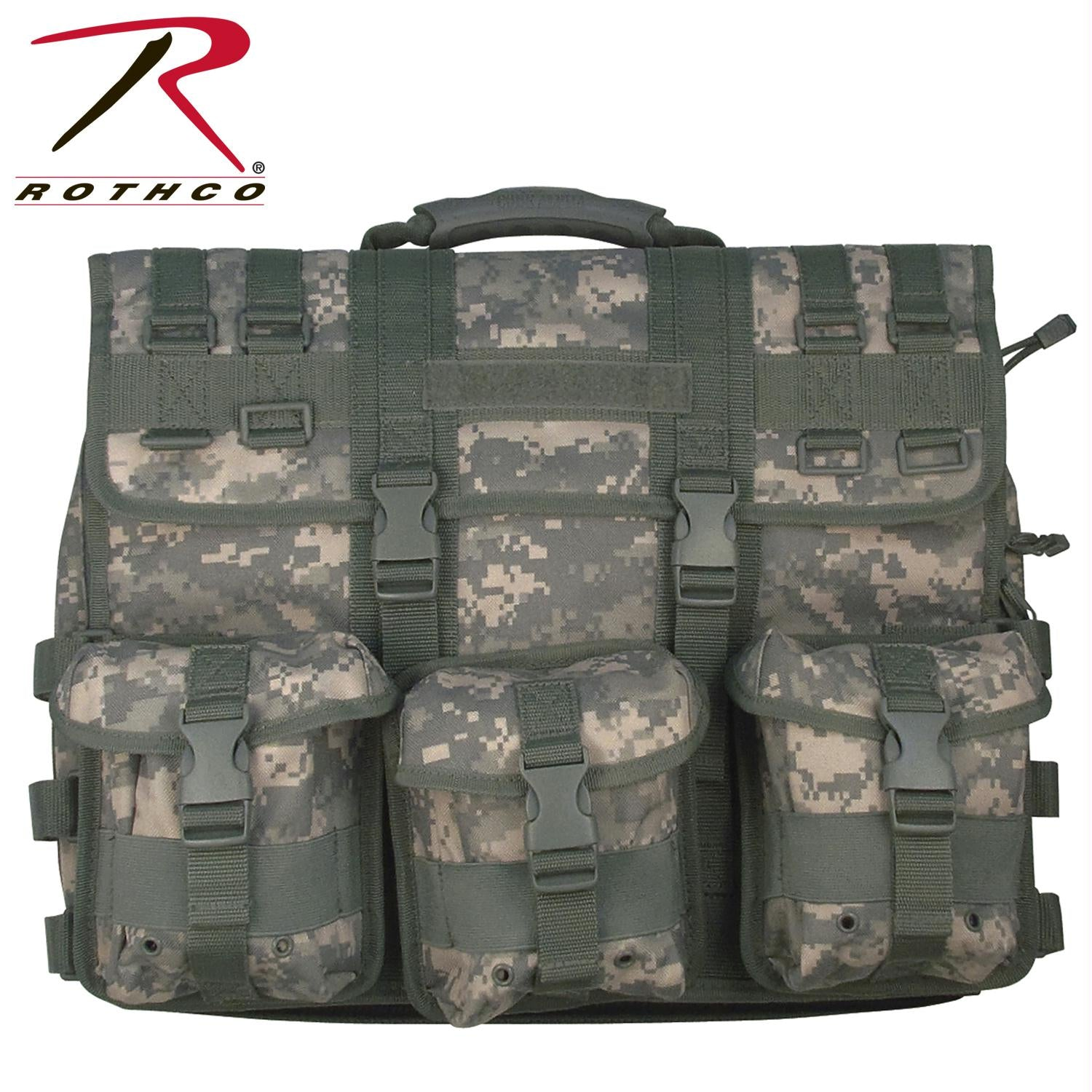 Rothco MOLLE Tactical Laptop Briefcase - ACU Digital Camo