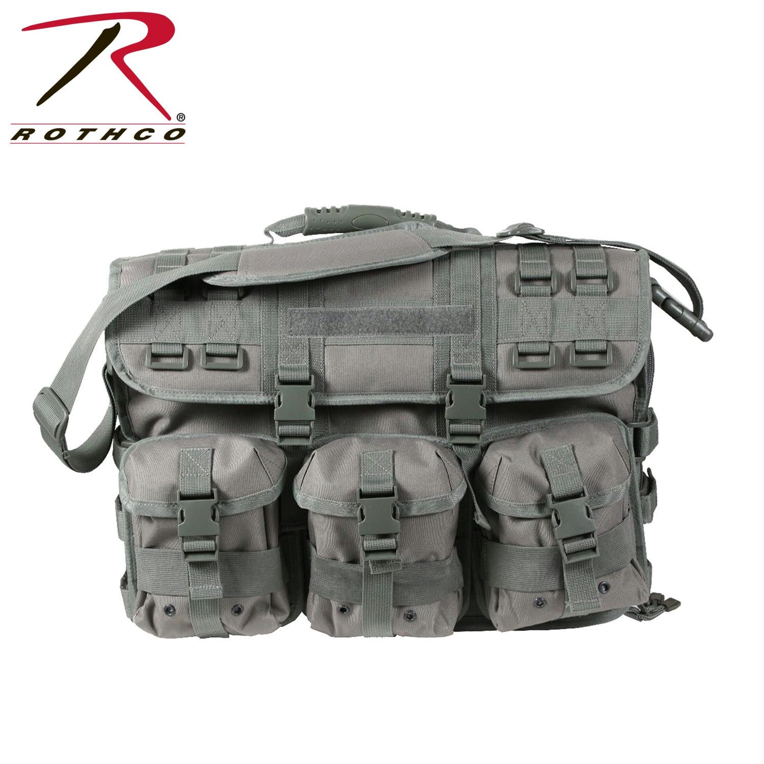 Rothco MOLLE Tactical Laptop Briefcase - Foliage Green