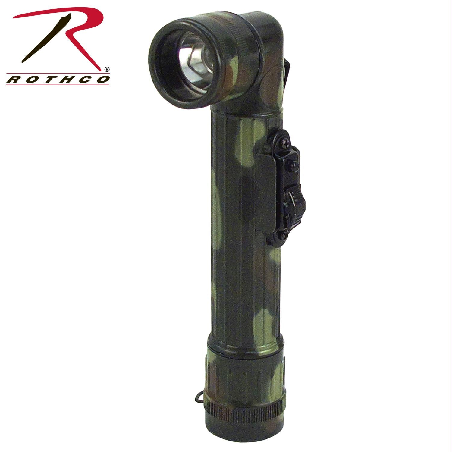 Rothco Mini Army Style Flashlight - Woodland Camo