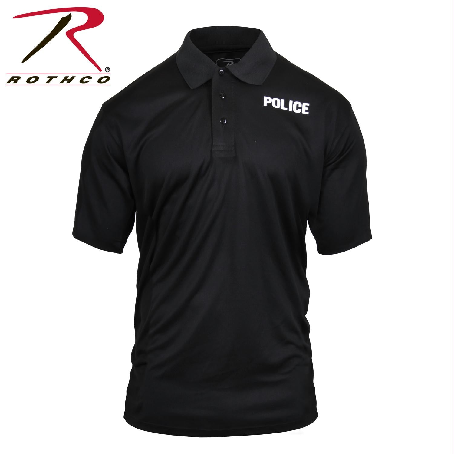 Rothco Moisture Wicking Public Safety Polo Shirt - Police / S