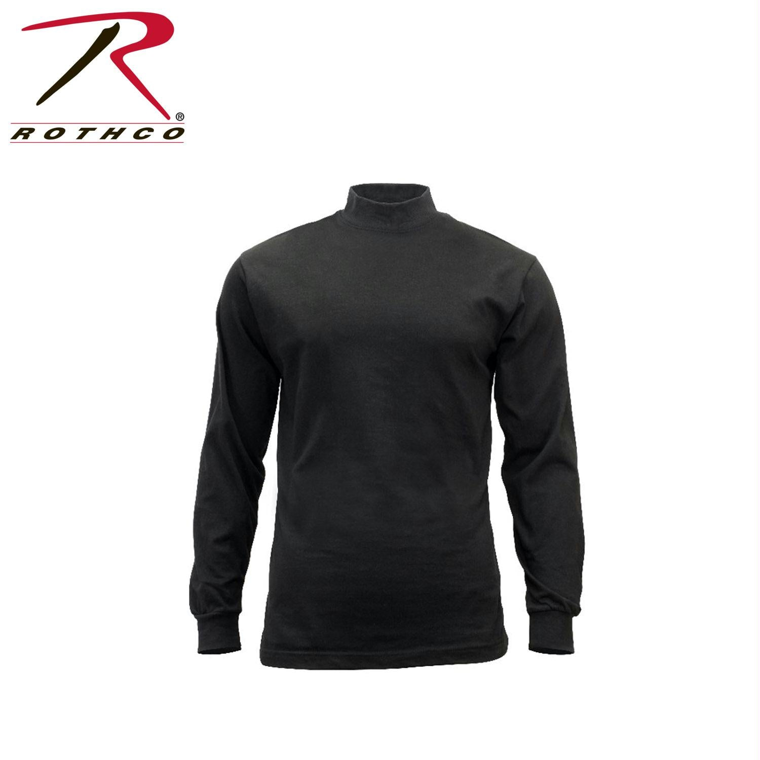 Rothco Mock Turtleneck - Black / S