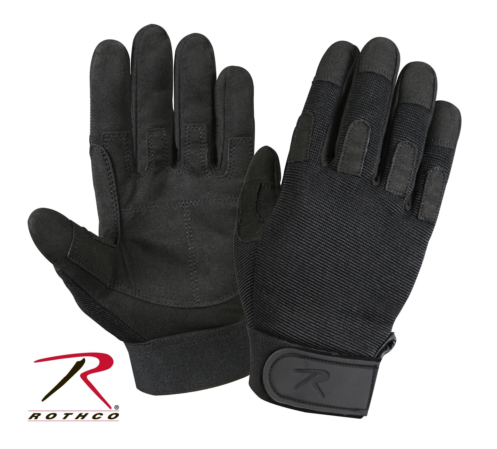 Rothco Lightweight All Purpose Duty Gloves - Black / 2XL