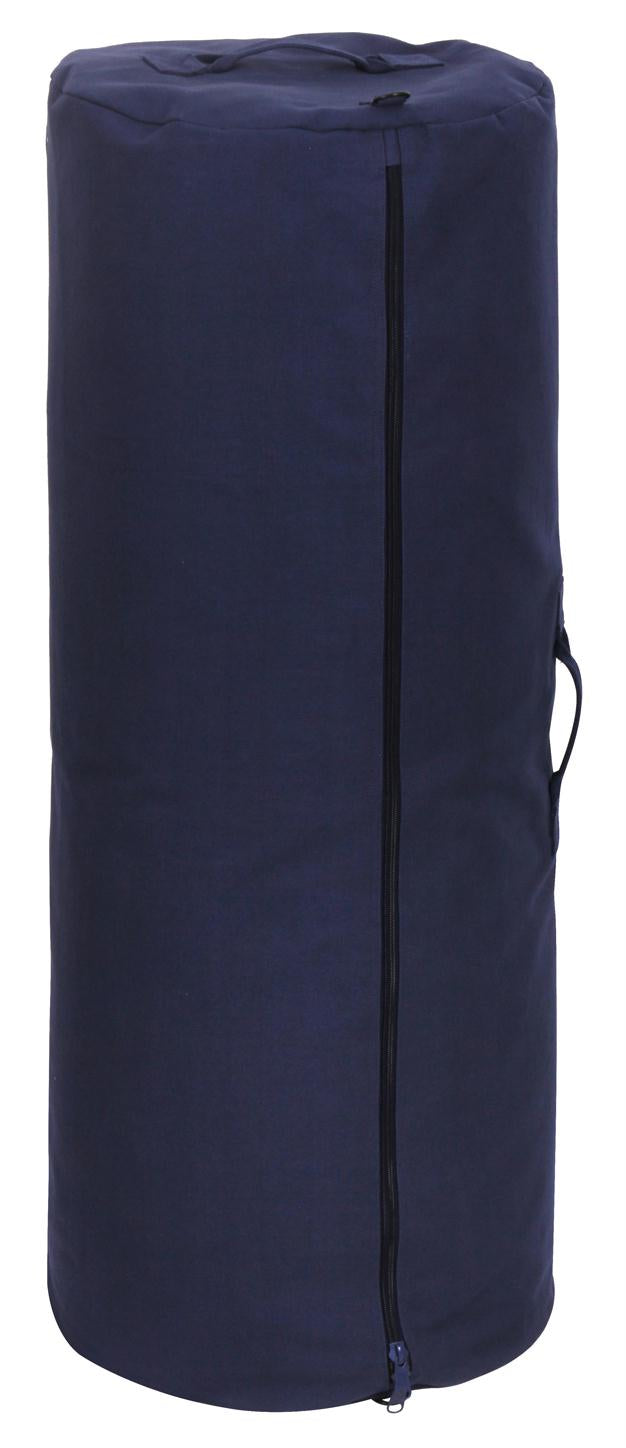 Rothco Canvas Duffle Bag w/ Side Zipper