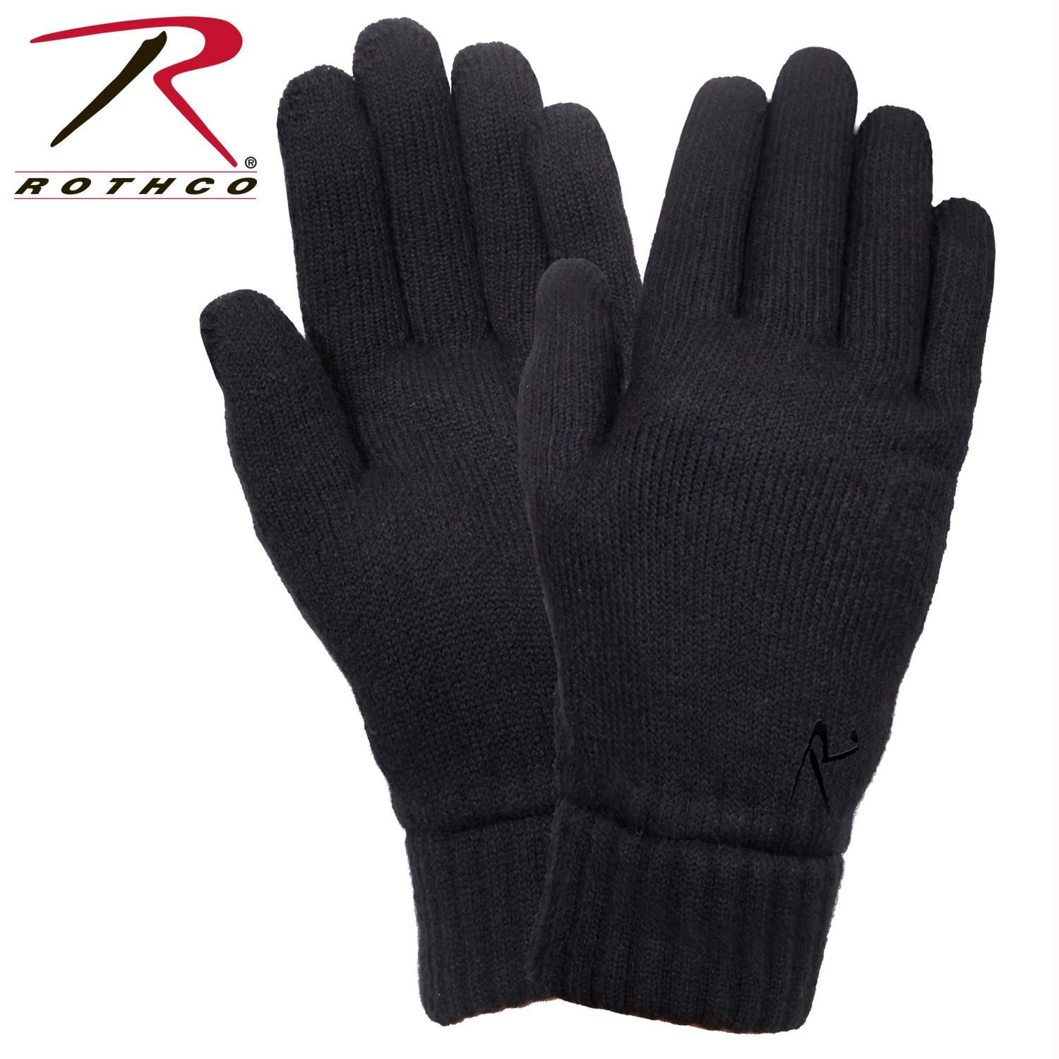 Rothco Fleece Lined Gloves - Black / L