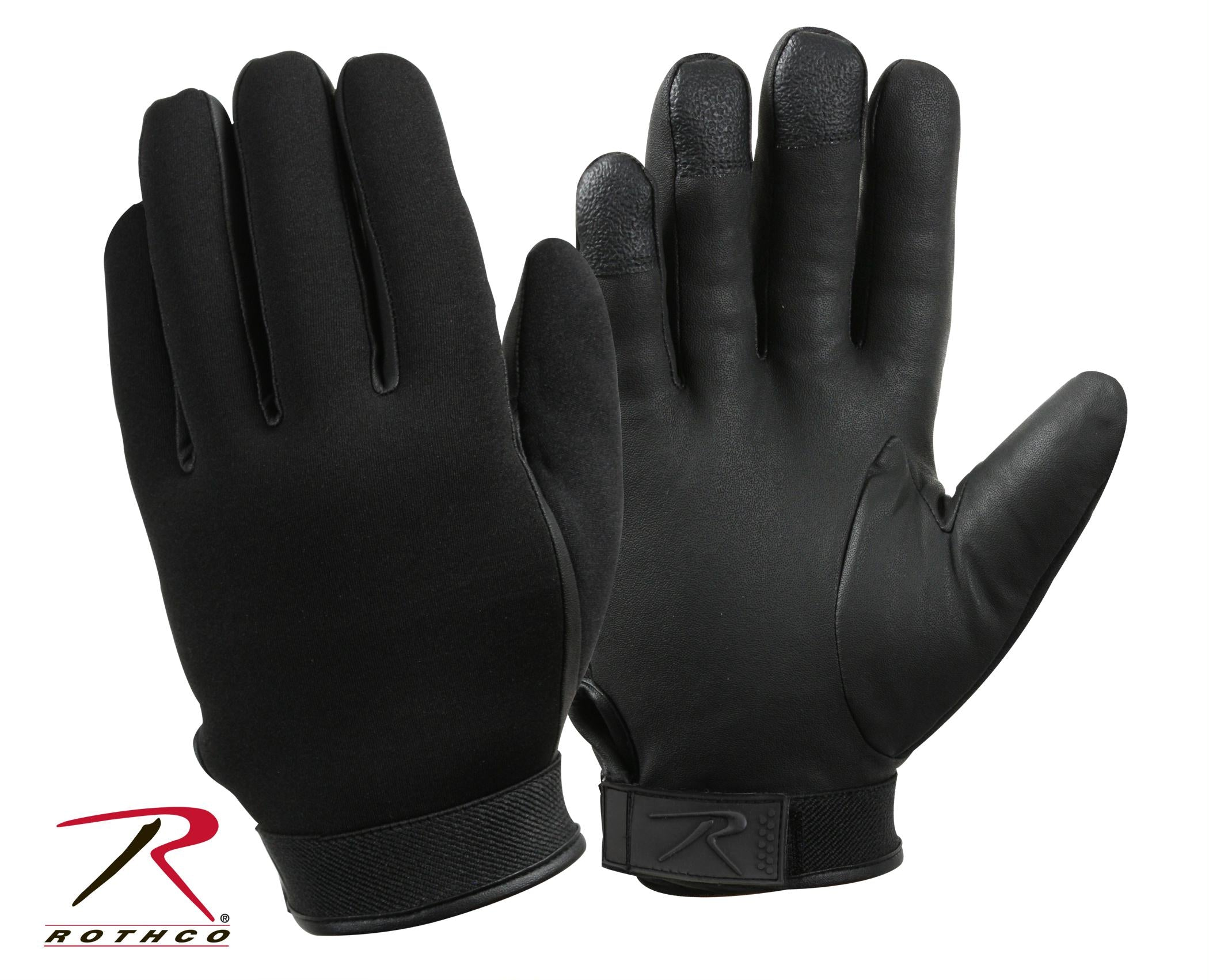 Rothco Waterproof Insulated Neoprene Duty Gloves - Black / 2XL