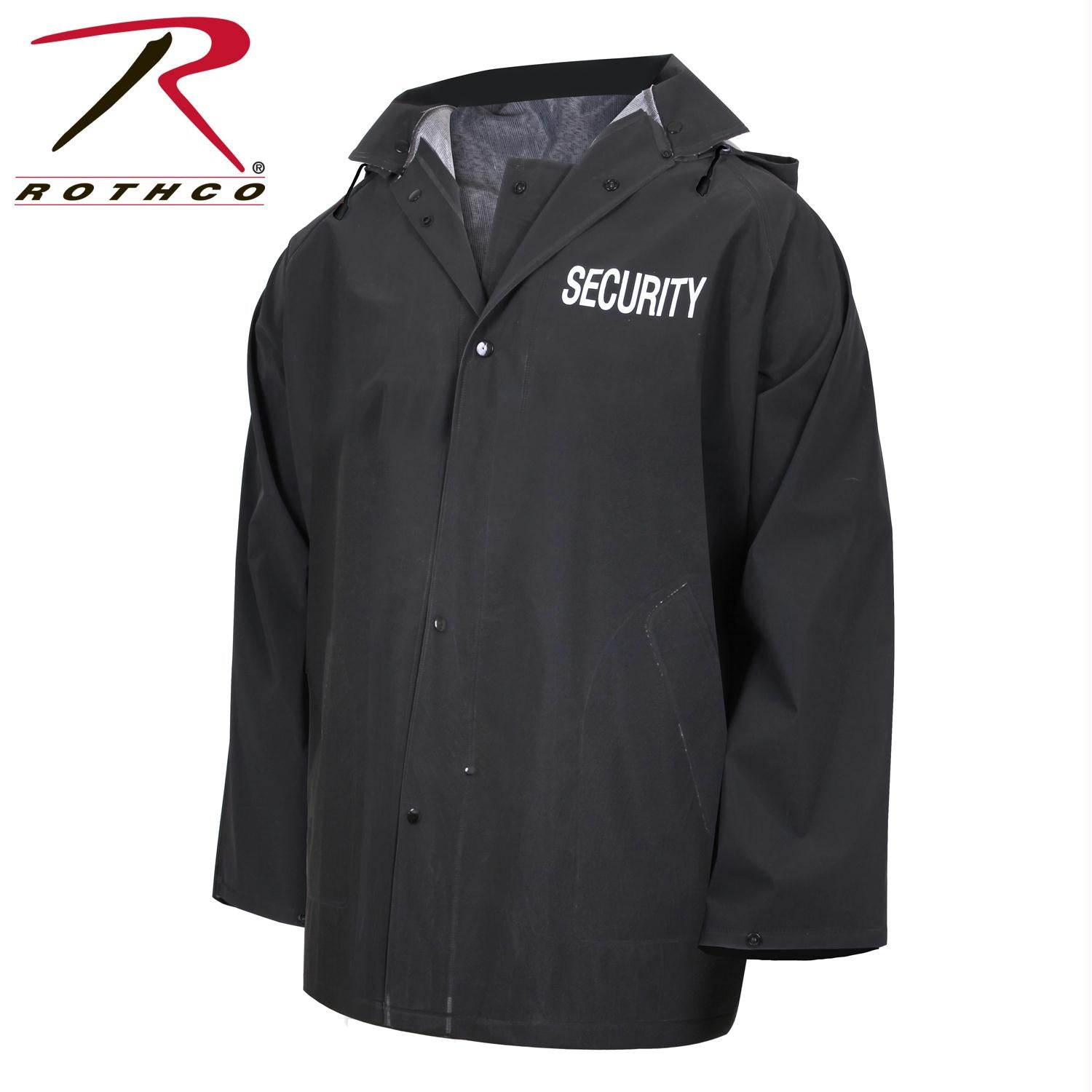 Rothco Security Rain Jacket - XL