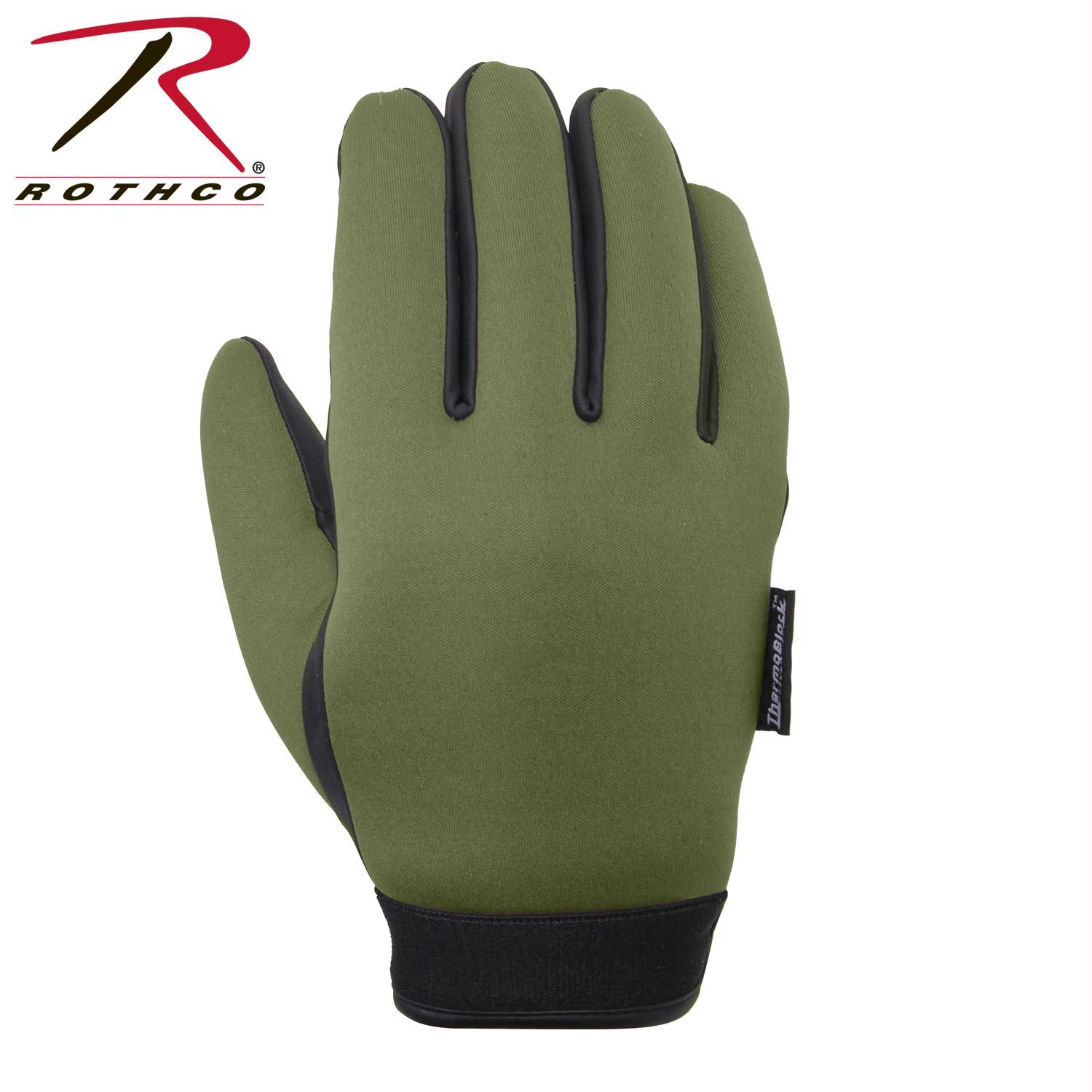 Rothco Waterproof Insulated Neoprene Duty Gloves - Olive Drab / XL