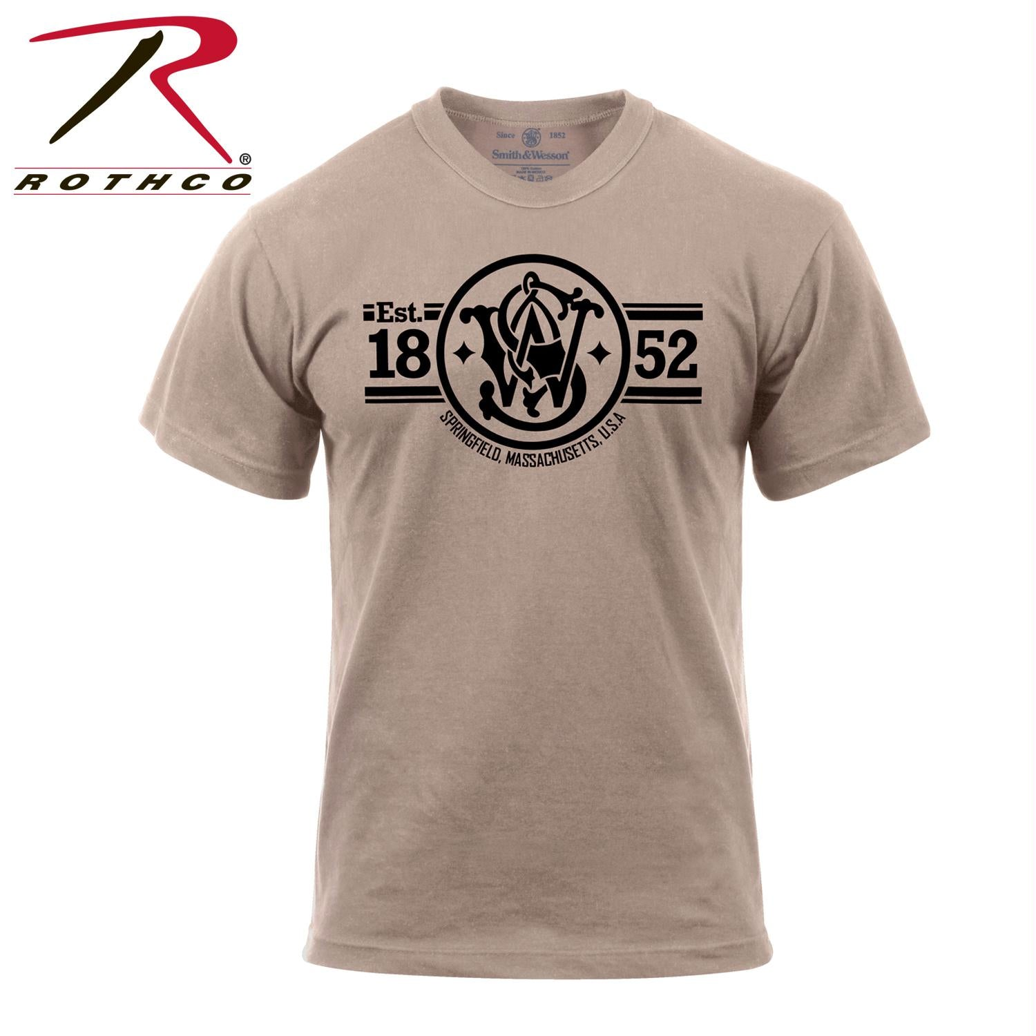 Smith & Wesson Established 1852 T-Shirt - L