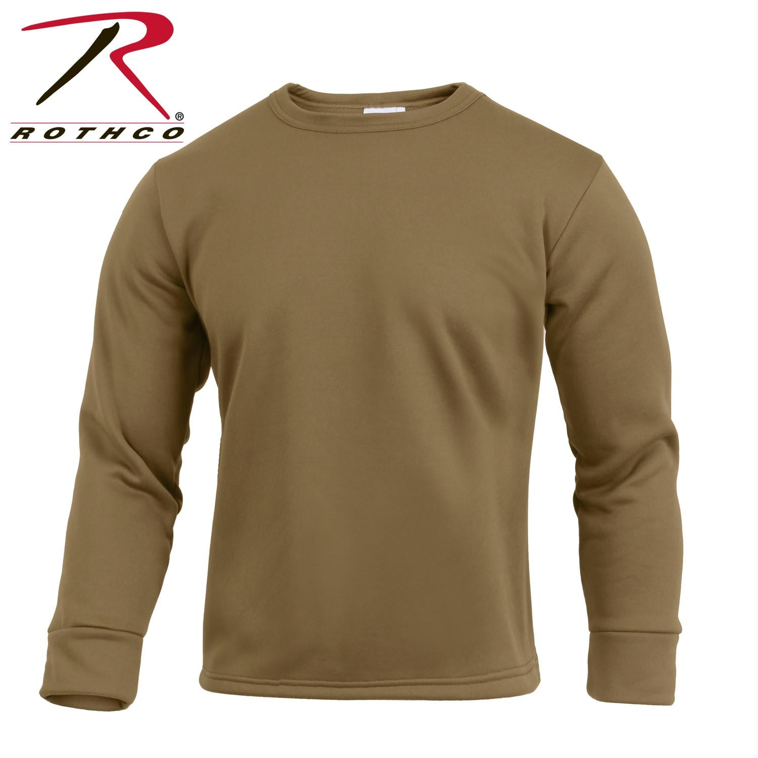 Rothco Gen III Silk Weight Underwear Top - AR 670-1 Coyote Brown / L