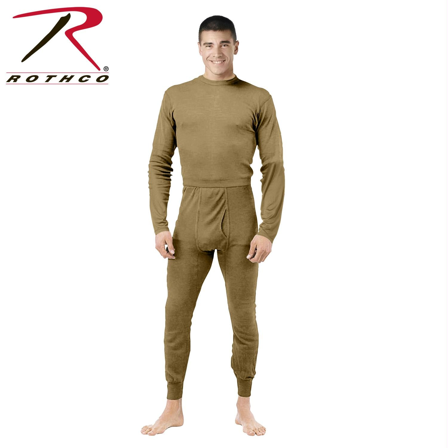 Rothco Gen III Silk Weight Bottoms - AR 670-1 Coyote Brown / S