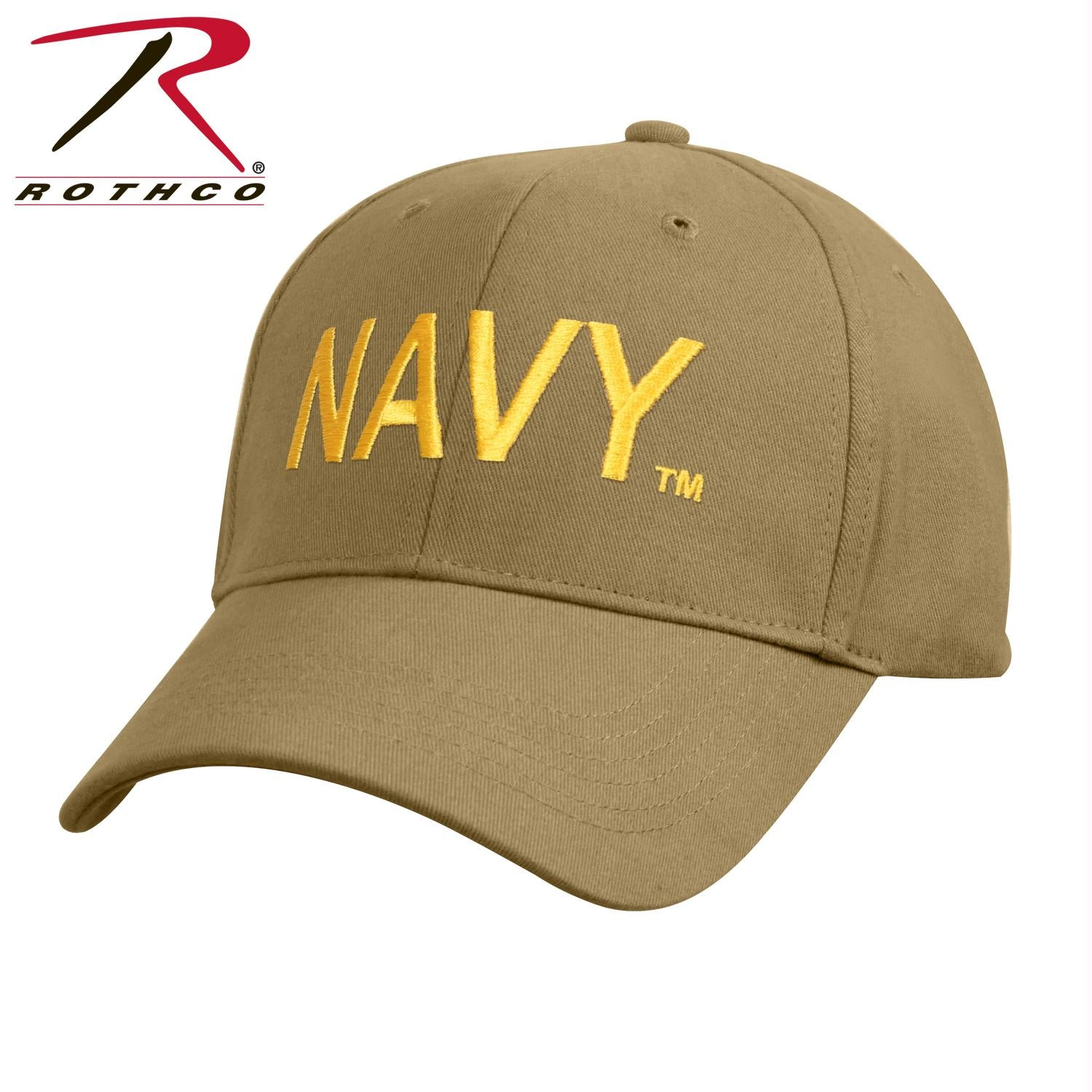 Rothco Low Profile Navy Cap - Coyote - Coyote Brown / One Size