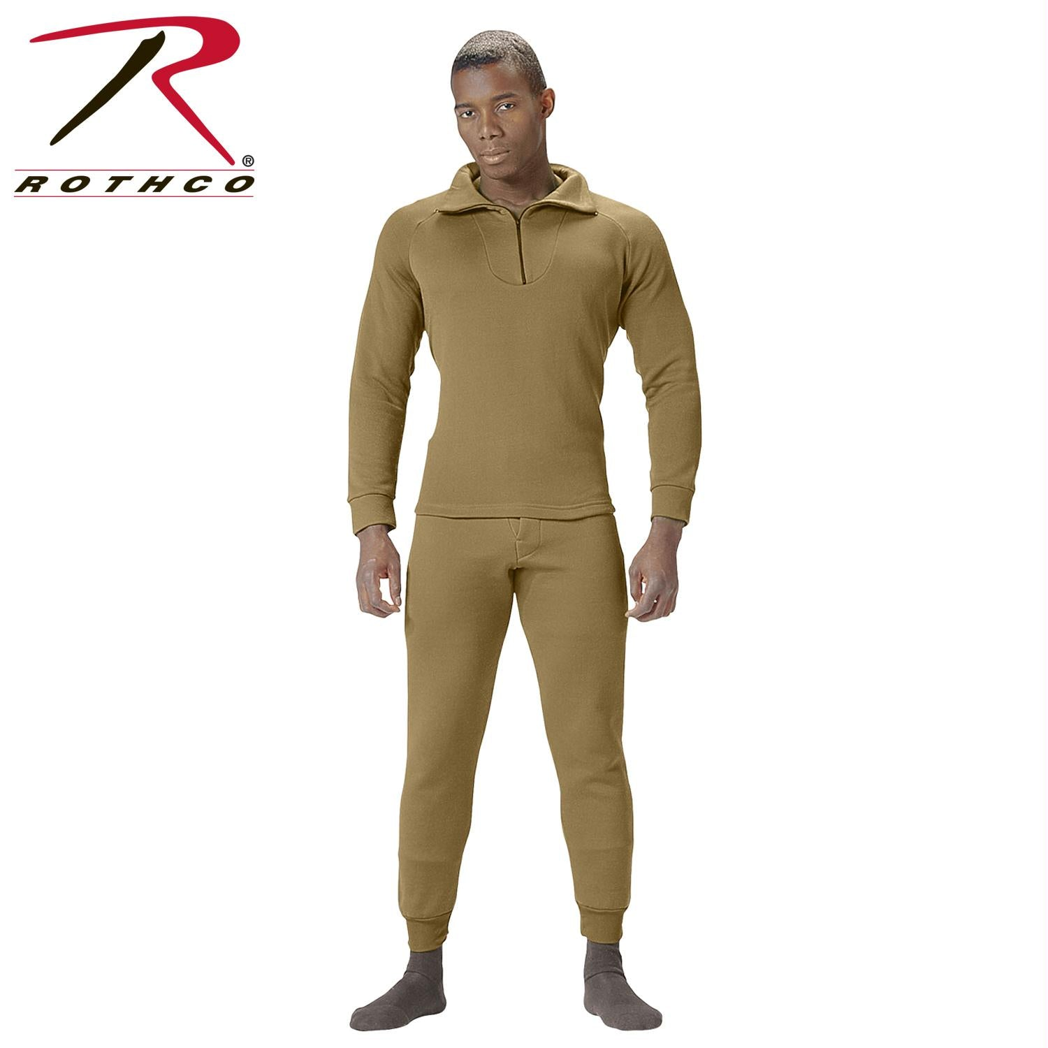 Rothco ECWCS Poly Bottoms - AR 670-1 Coyote Brown / M