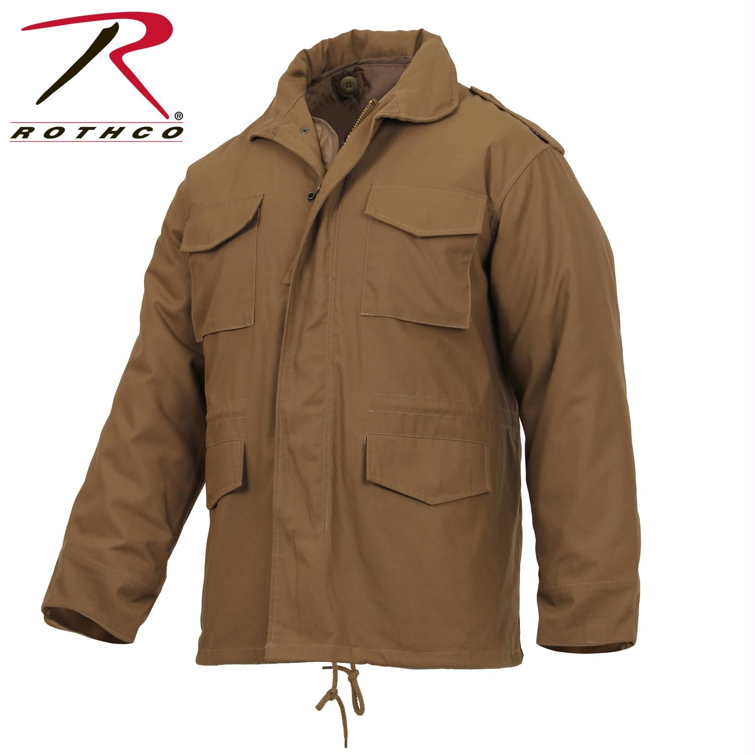 Rothco M-65 Field Jacket - Coyote Brown / 2XL