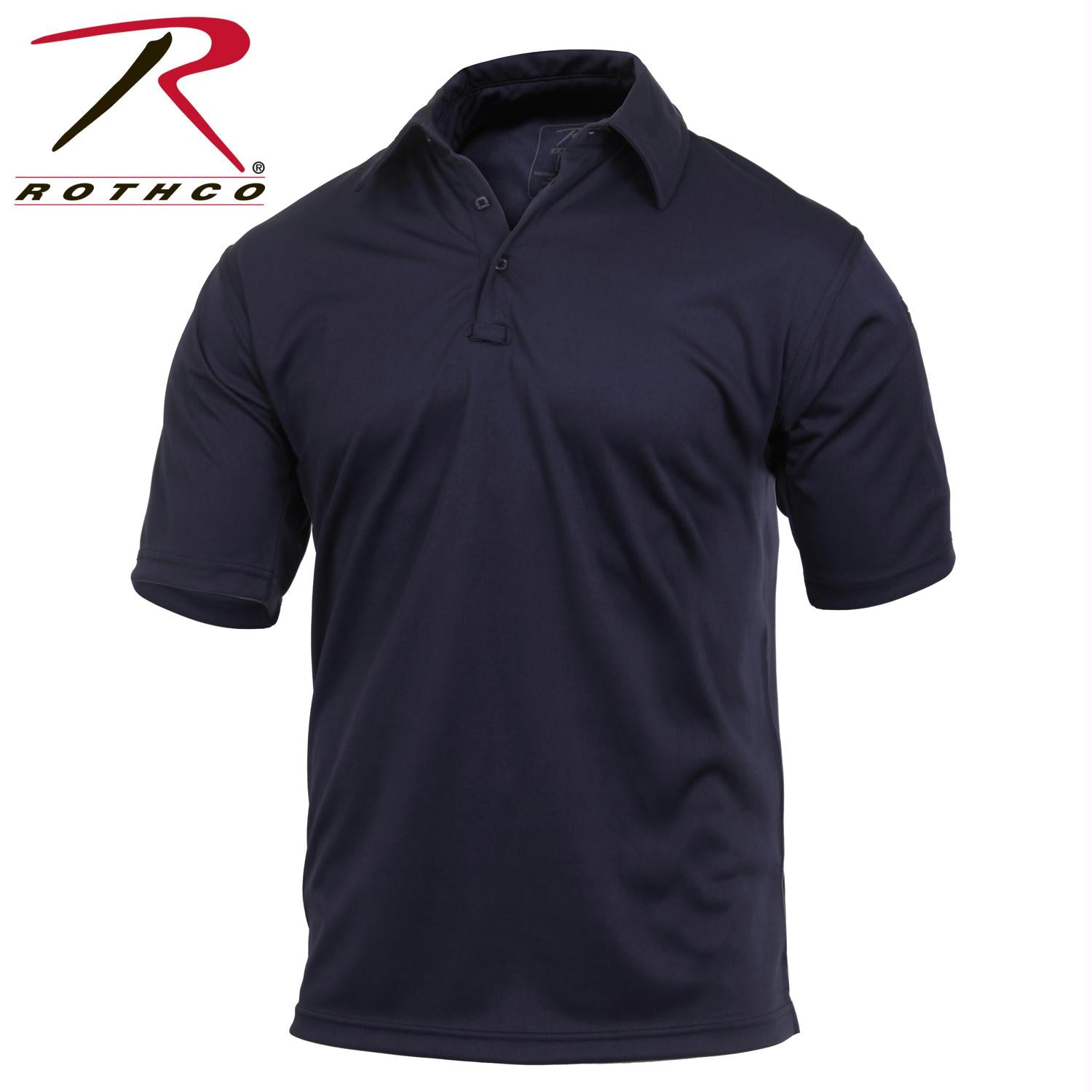 Rothco Tactical Performance Polo Shirt - Midnight Navy Blue / M