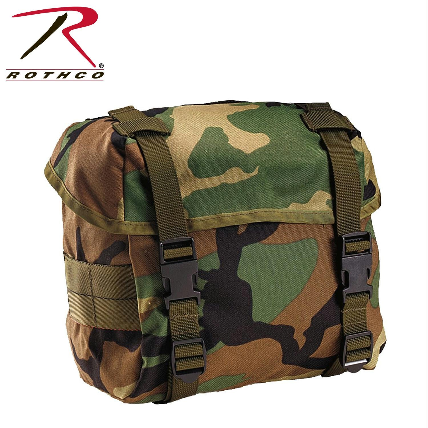 Rothco G.I. Type Enhanced Butt Packs - Woodland Camo