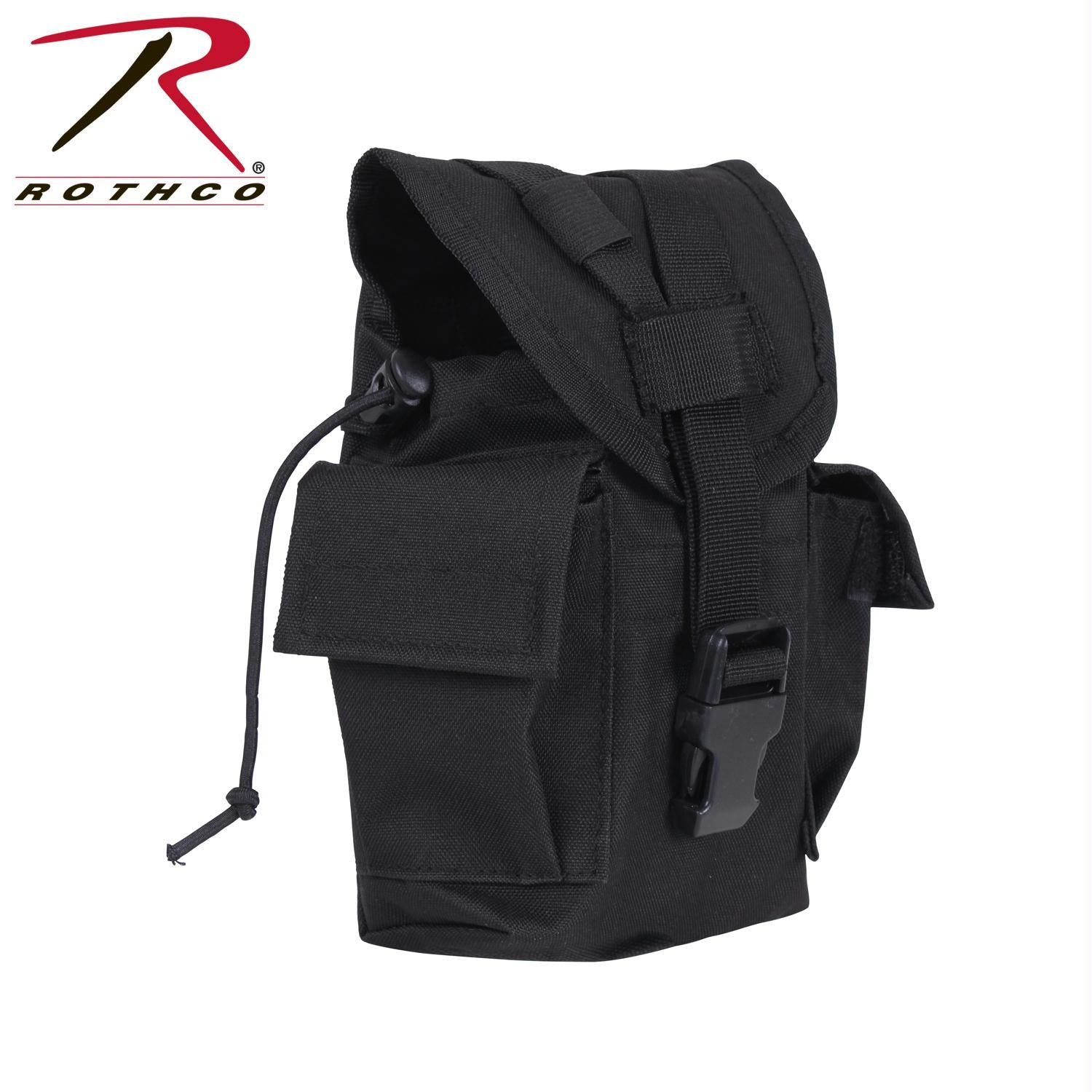 Rothco MOLLE II Canteen & Utility Pouch - Black