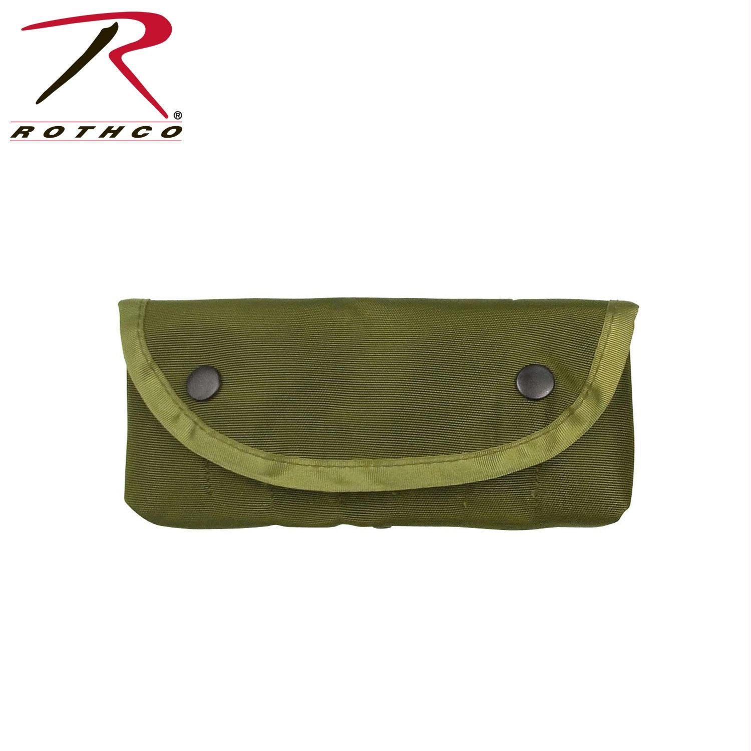Rothco GI Type Enhanced Shotgun Shell Pouch - Olive Drab