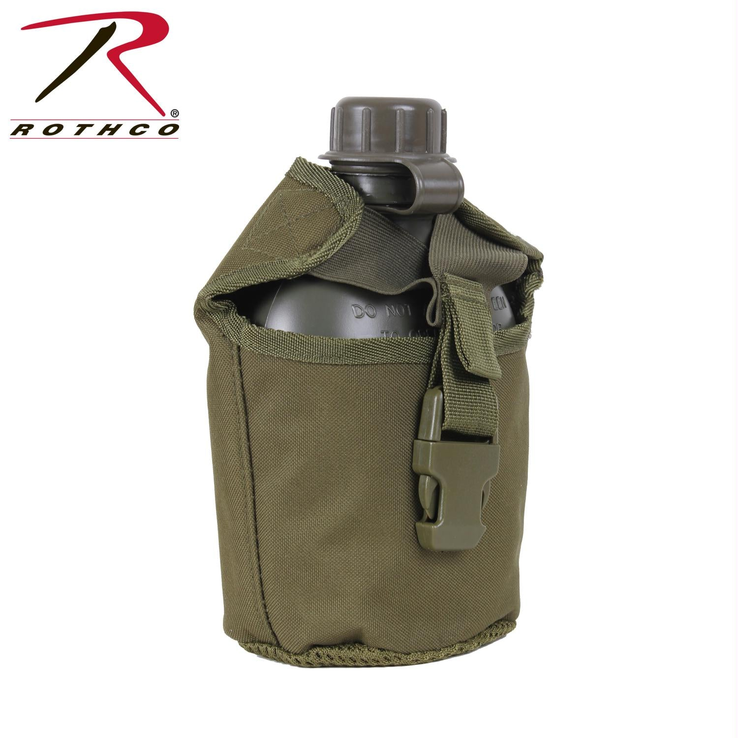 Rothco MOLLE Compatible 1 Quart Canteen Cover - Olive Drab