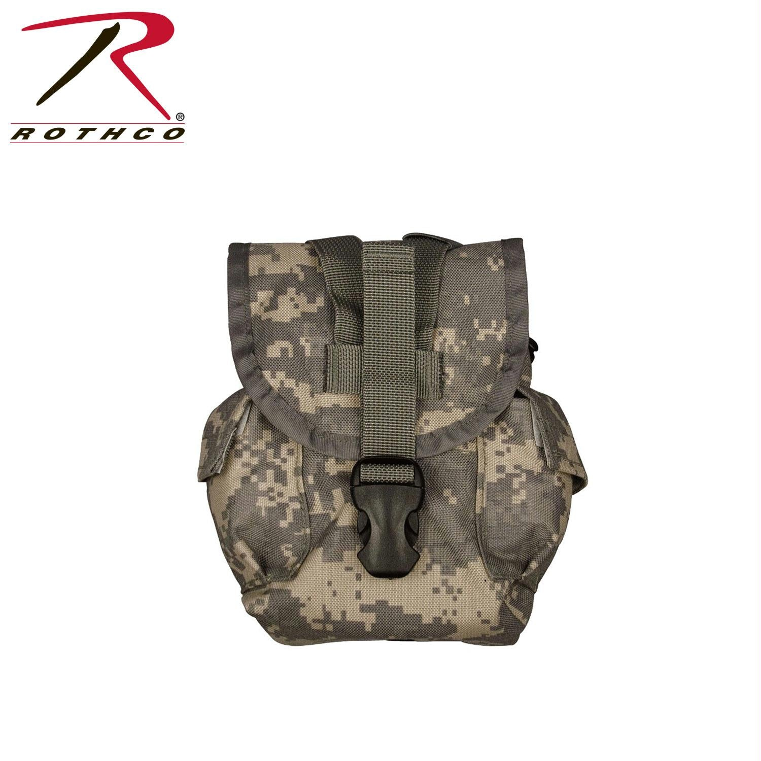 Rothco MOLLE II Canteen & Utility Pouch - ACU Digital Camo