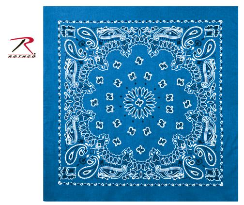 Rothco Trainmen Bandana - Royal Blue