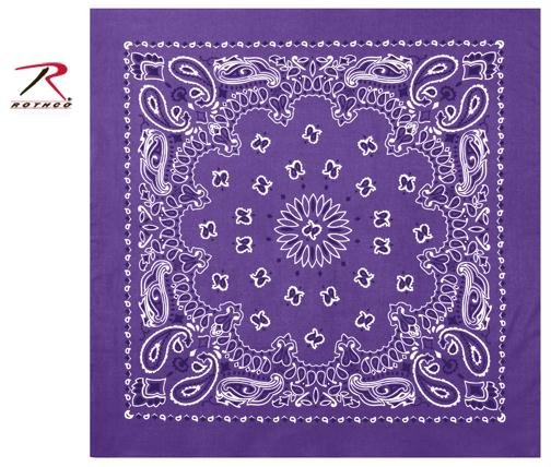 Rothco Trainmen Bandana - Purple