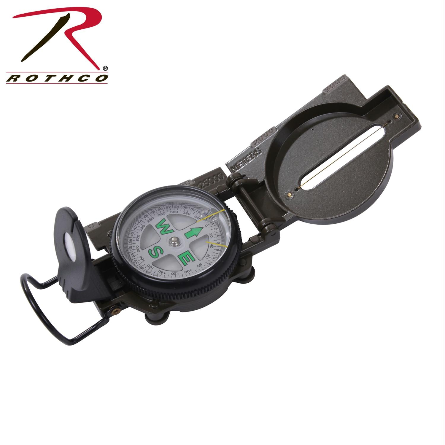 Rothco Military Marching Compass - Olive Drab