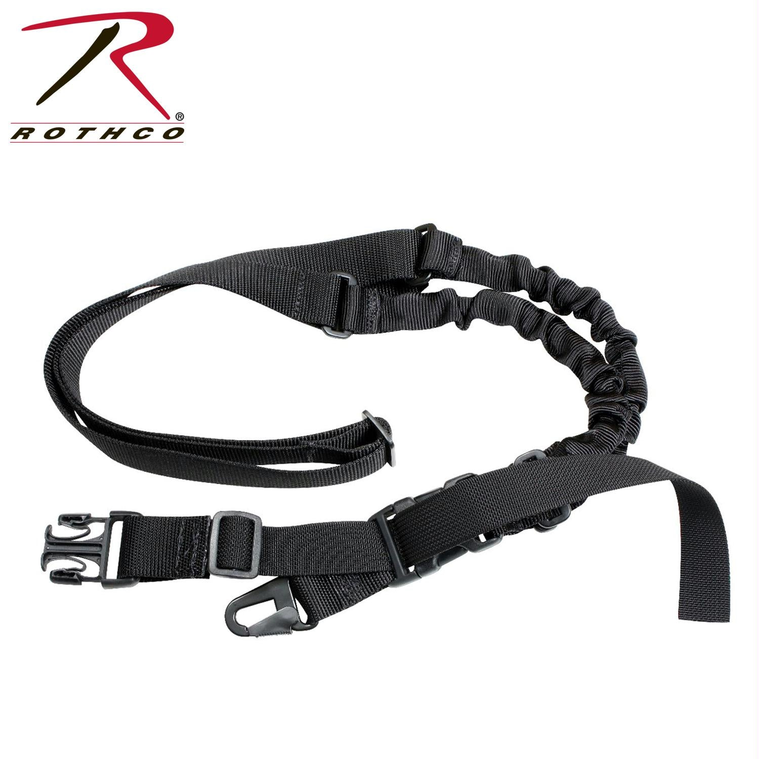 Rothco Tactical Single Point Sling - Black