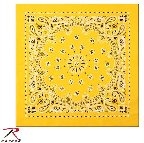 Rothco Trainmen Bandana - Yellow