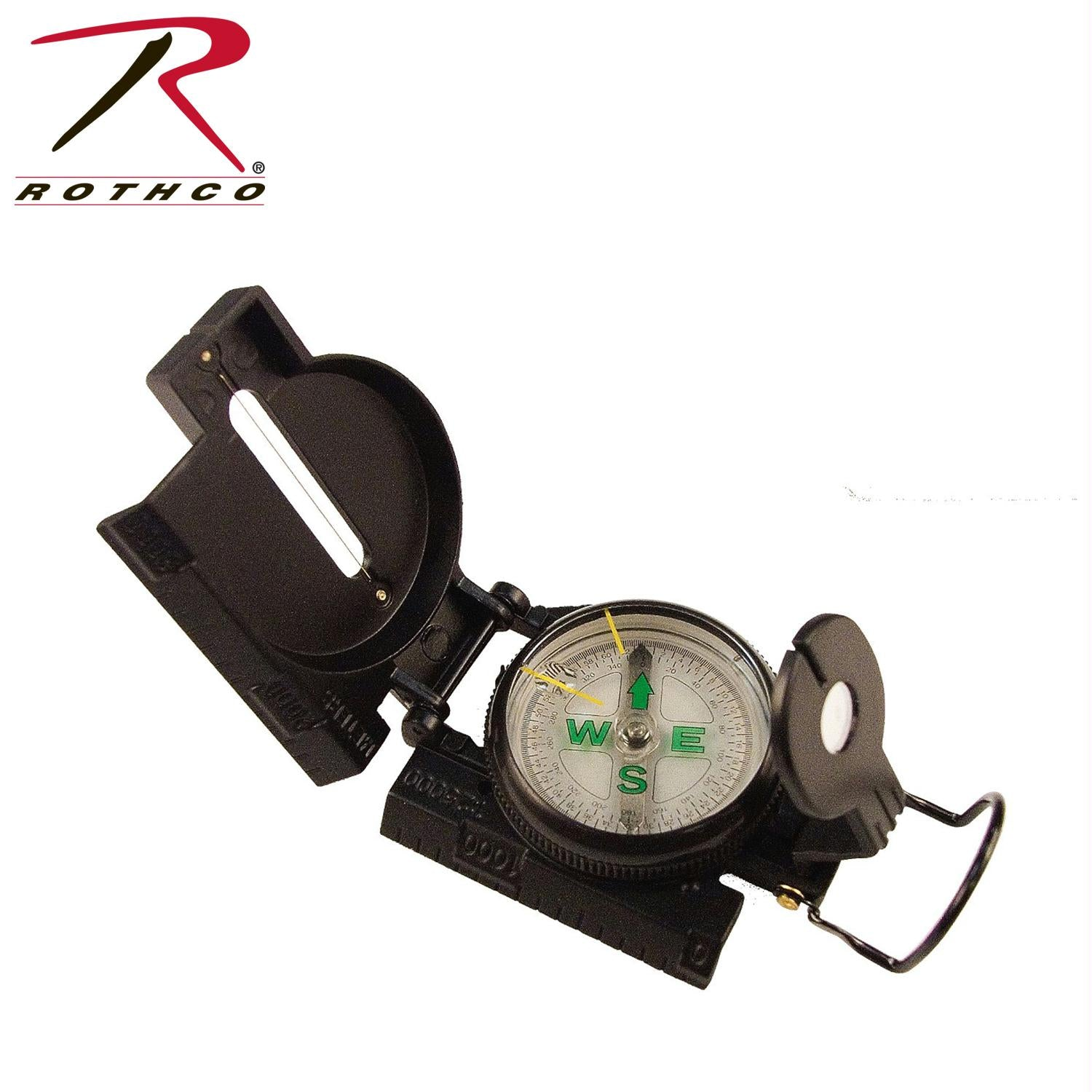 Rothco Military Marching Compass - Black