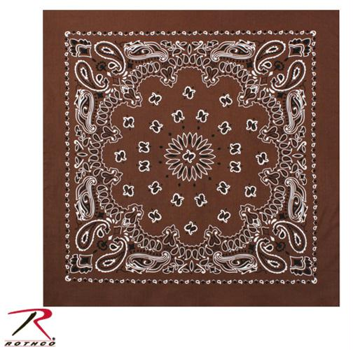 Rothco Trainmen Bandana - Brown