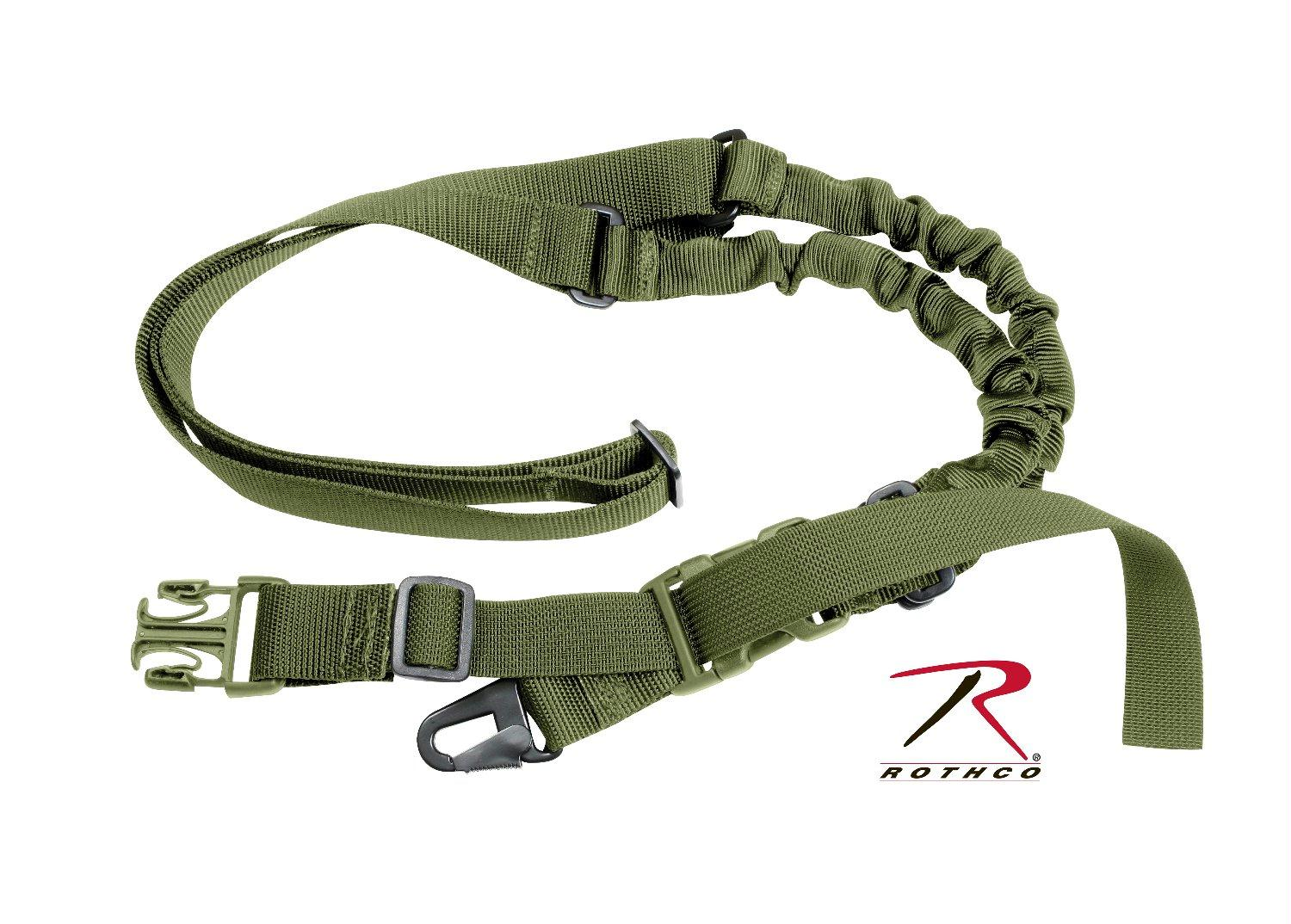 Rothco Tactical Single Point Sling - Olive Drab