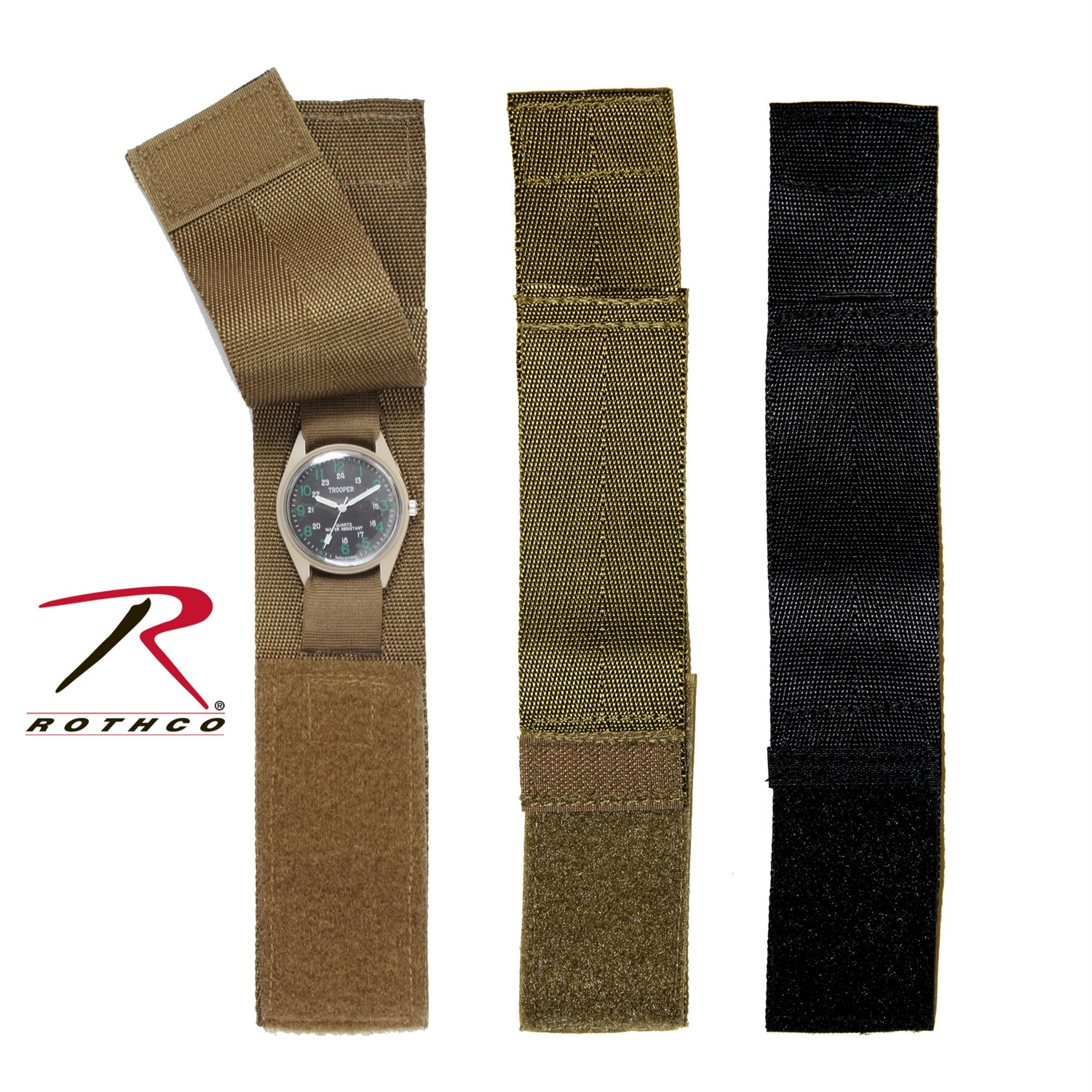 Rothco Commando Watchband - Black