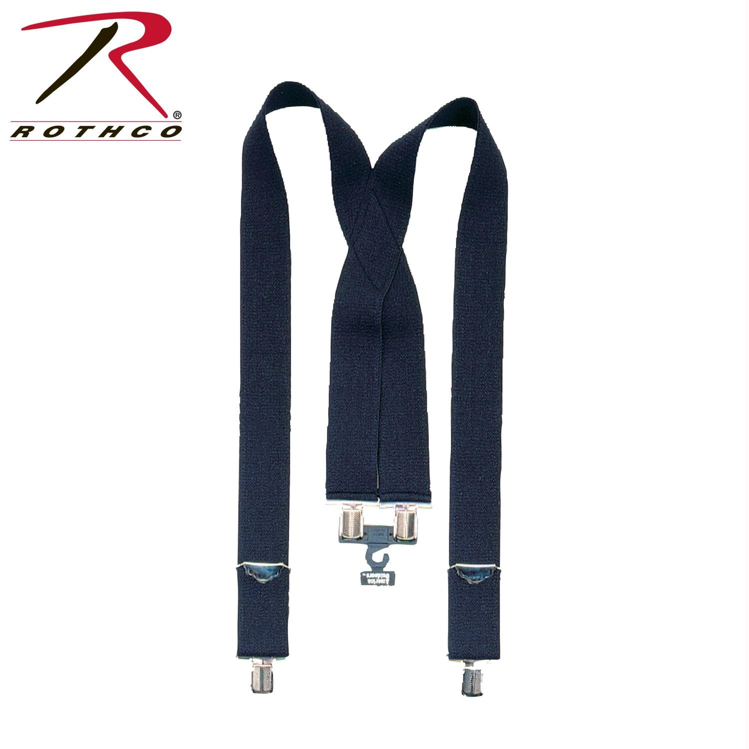 Rothco Pants Suspenders - Black