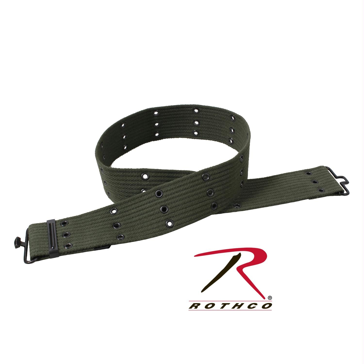Rothco Military Style Pistol Belts - Olive Drab