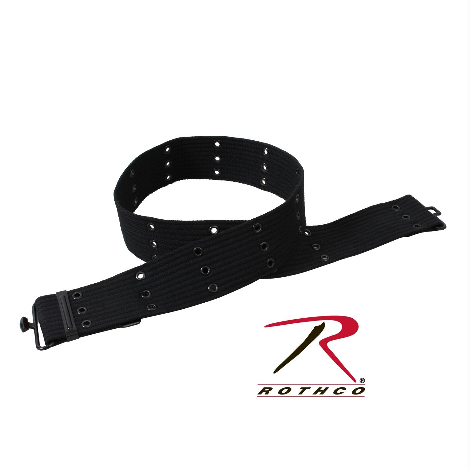 Rothco Military Style Pistol Belts - Black