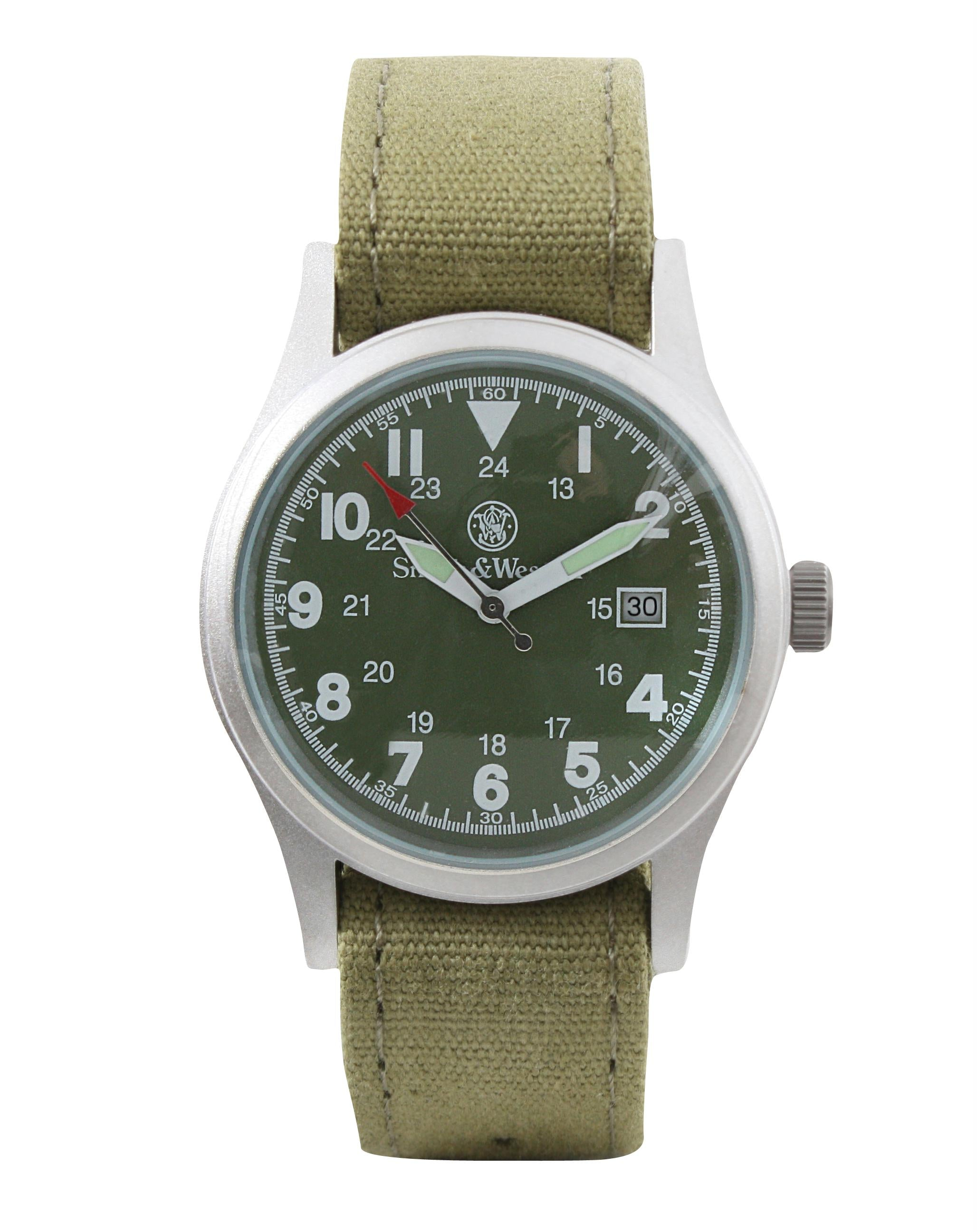 Smith & Wesson Military Watch Set - Olive Drab
