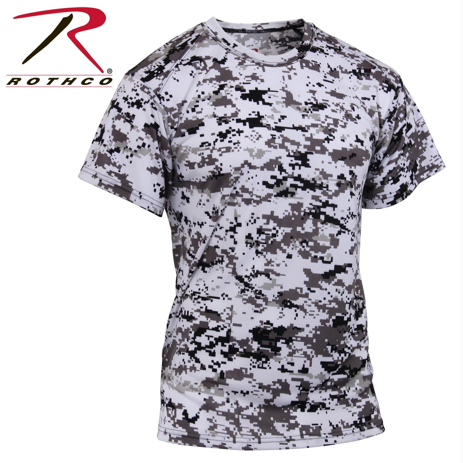 Rothco Polyester Performance T-Shirt - City Digital Camo / L