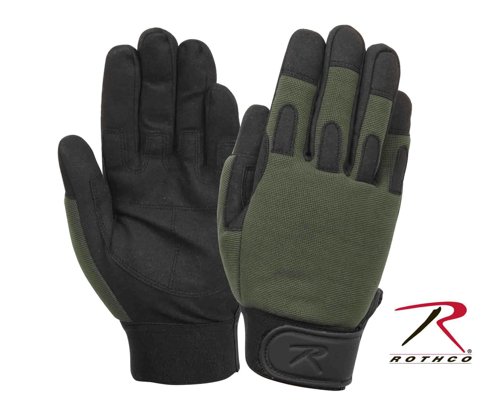 Rothco Lightweight All Purpose Duty Gloves - Olive Drab / L
