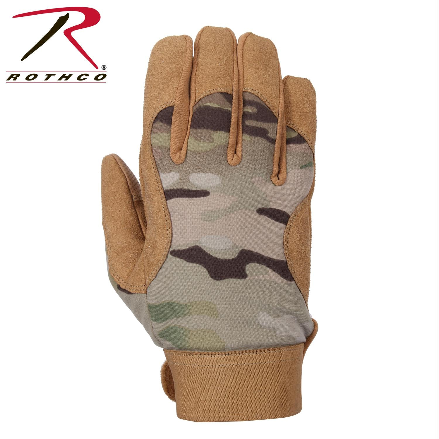 Rothco Military Mechanics Gloves - MultiCam / L