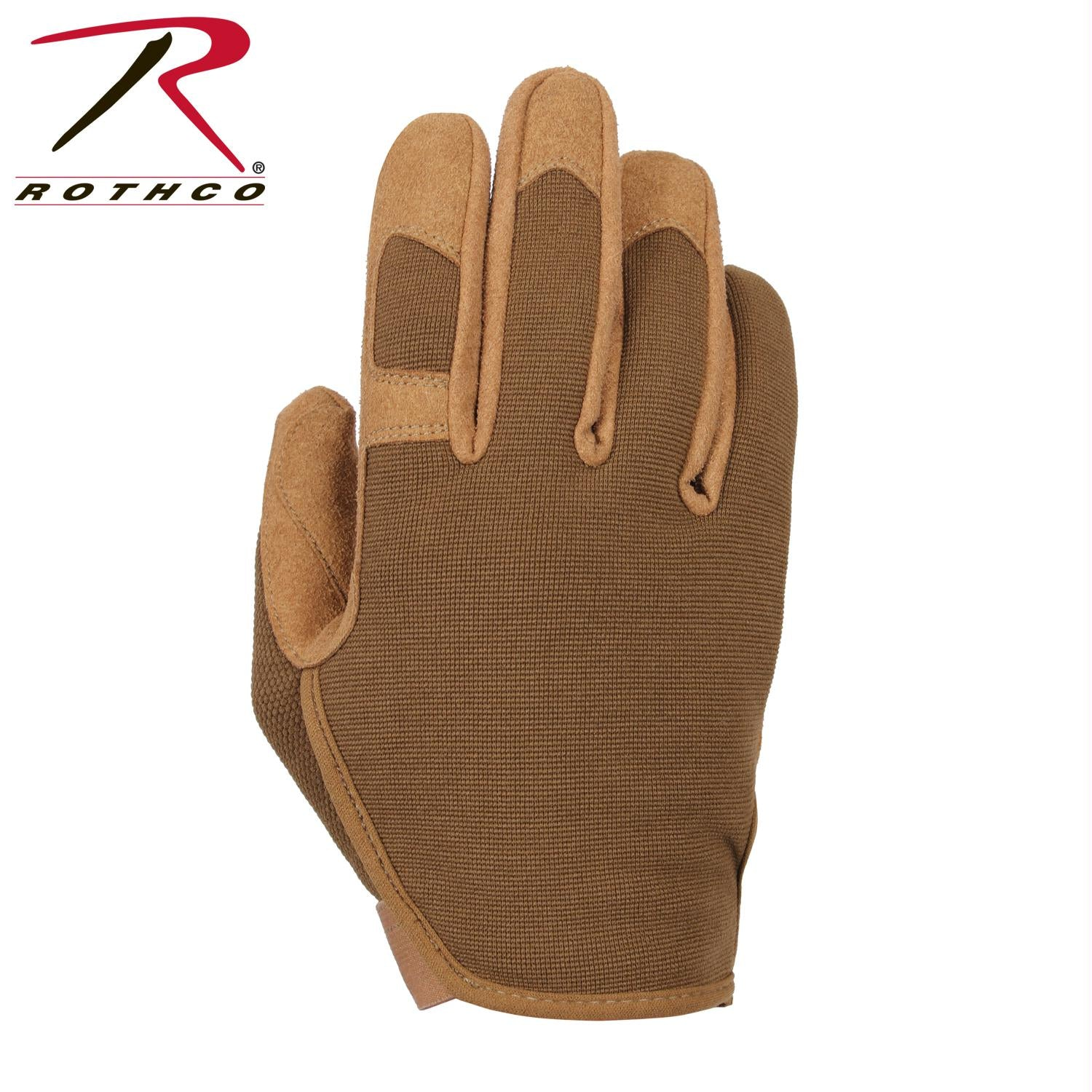 Rothco Ultra-light High Performance Gloves - Coyote Brown / L