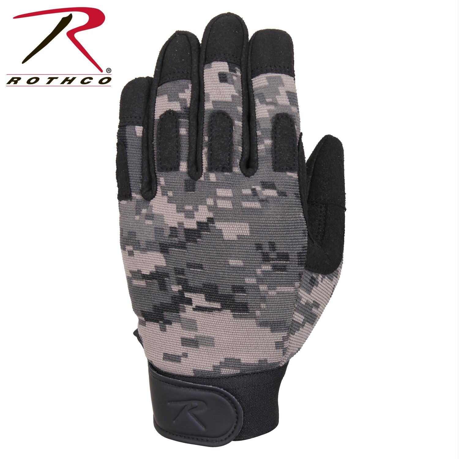 Rothco Lightweight All Purpose Duty Gloves - Subdued Urban Digital Camo / L