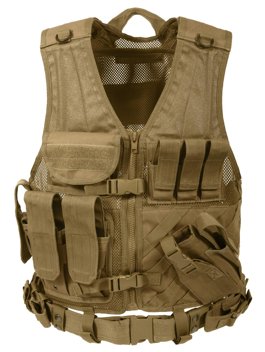 Rothco Cross Draw MOLLE Tactical Vest