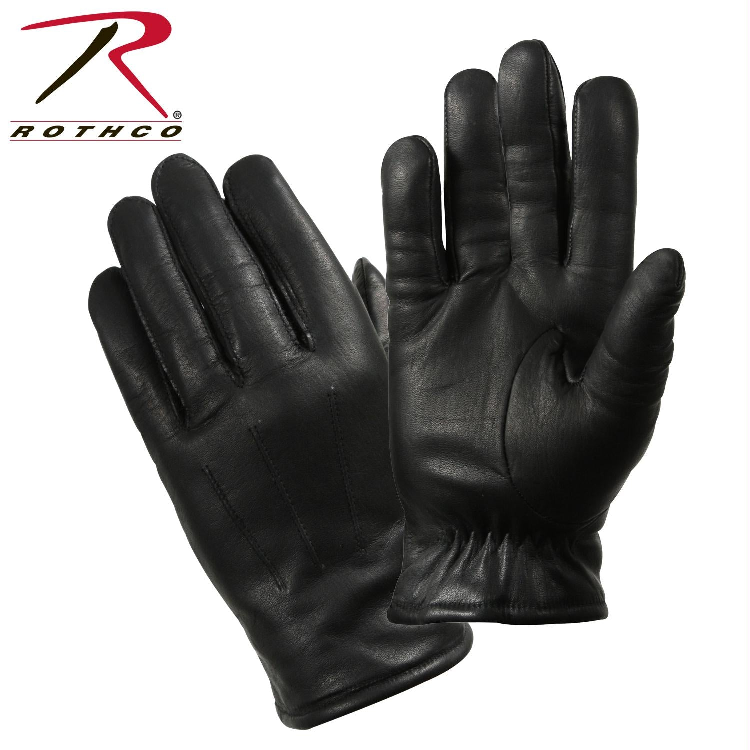 Rothco Cold Weather Leather Police Gloves - 2XL