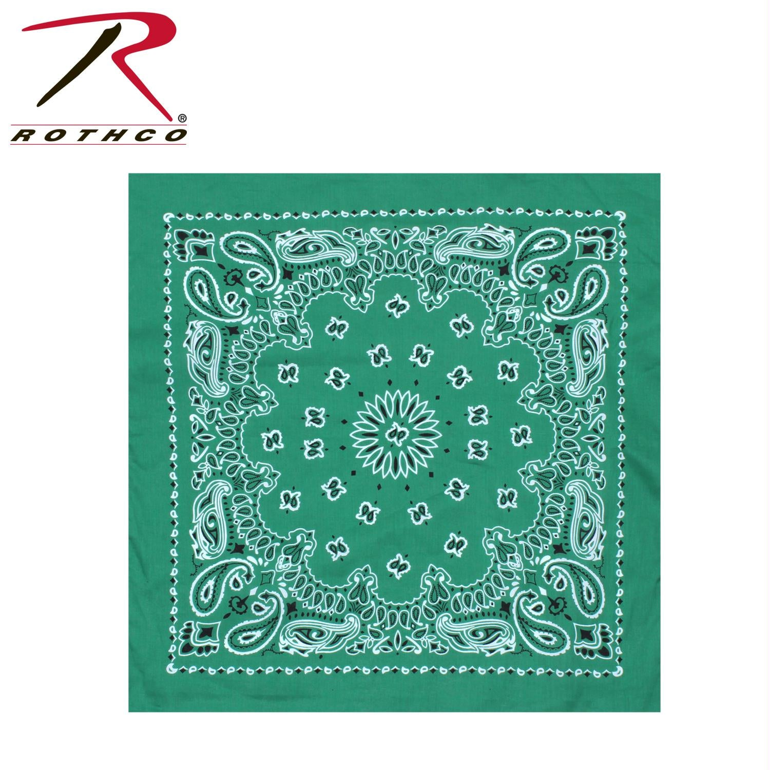 Rothco Trainmen Bandana - Kelly Green