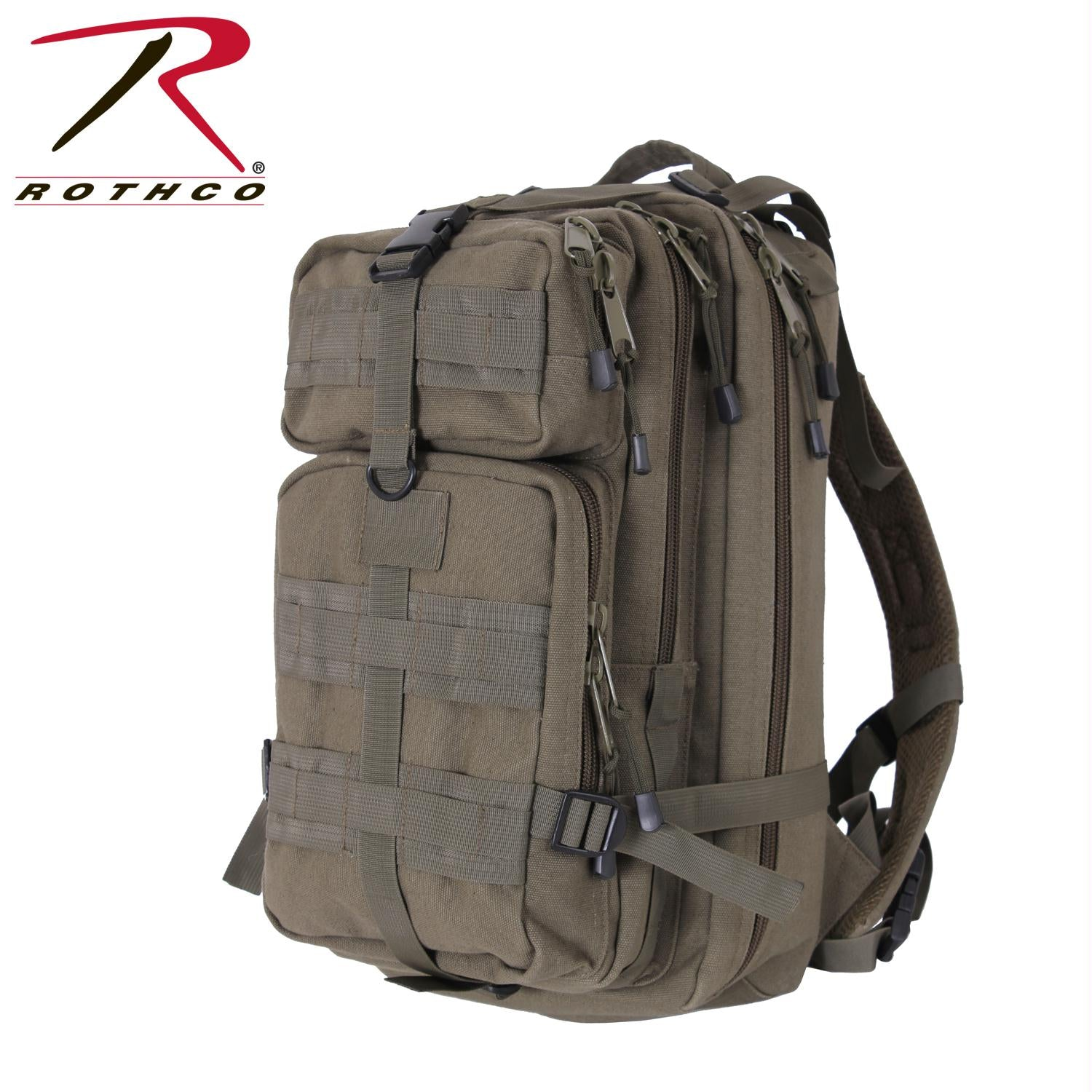 Rothco Tacticanvas Go Pack - Olive Drab