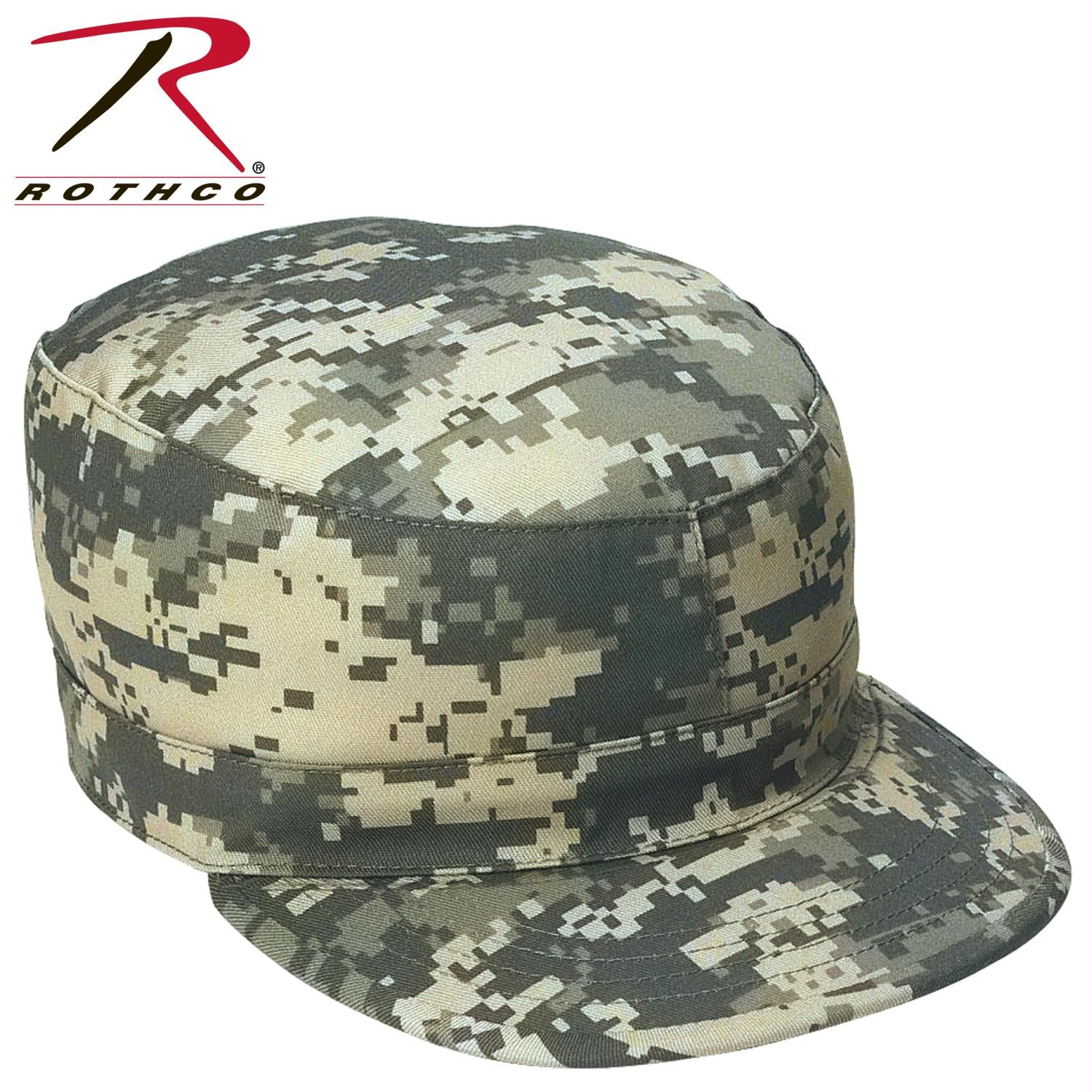 Rothco Camo Fatigue Caps - ACU Digital Camo / L