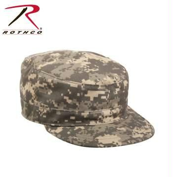Rothco Adjustable Camo Fatigue Cap - ACU Digital Camo