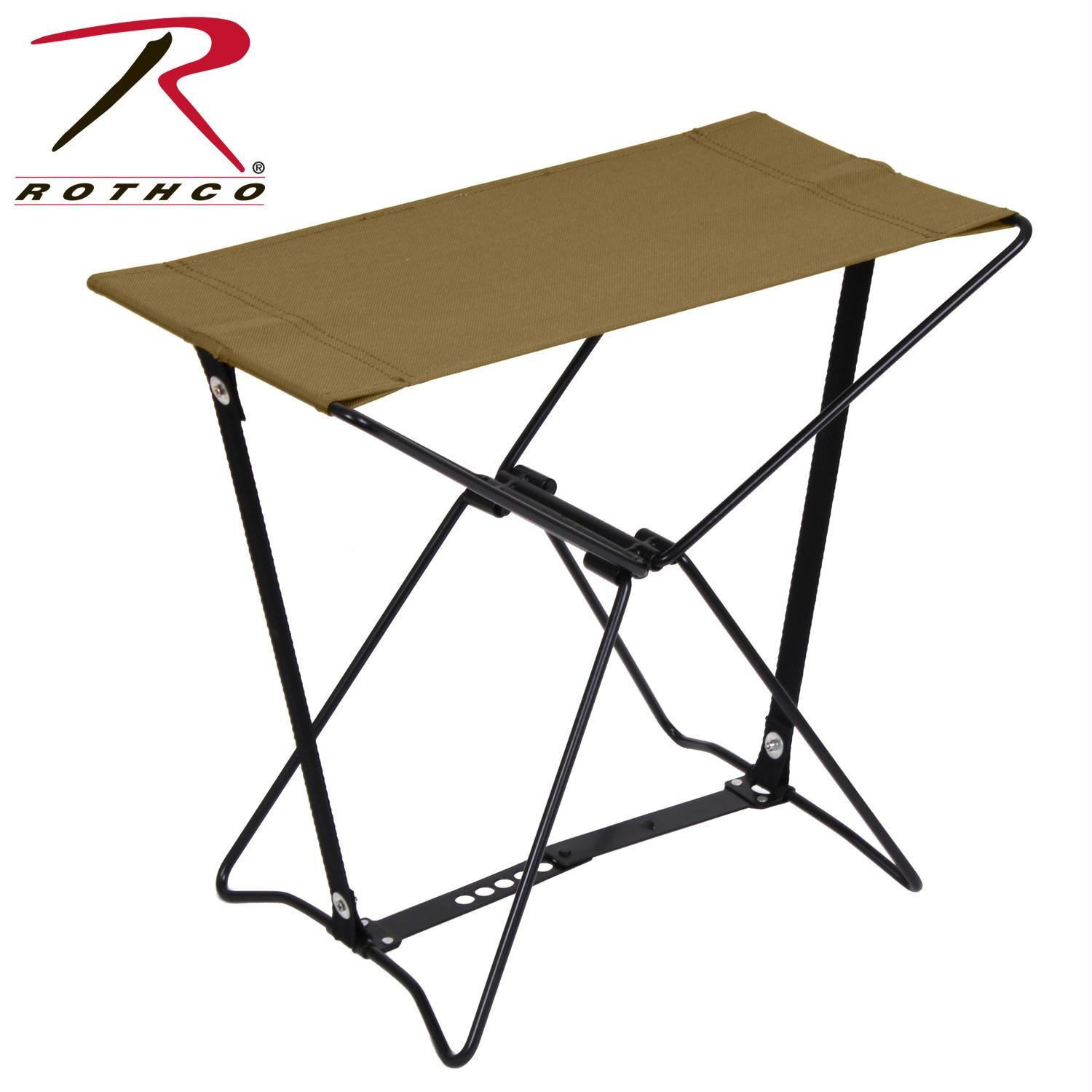 Rothco Folding Camp Stools - Coyote Brown