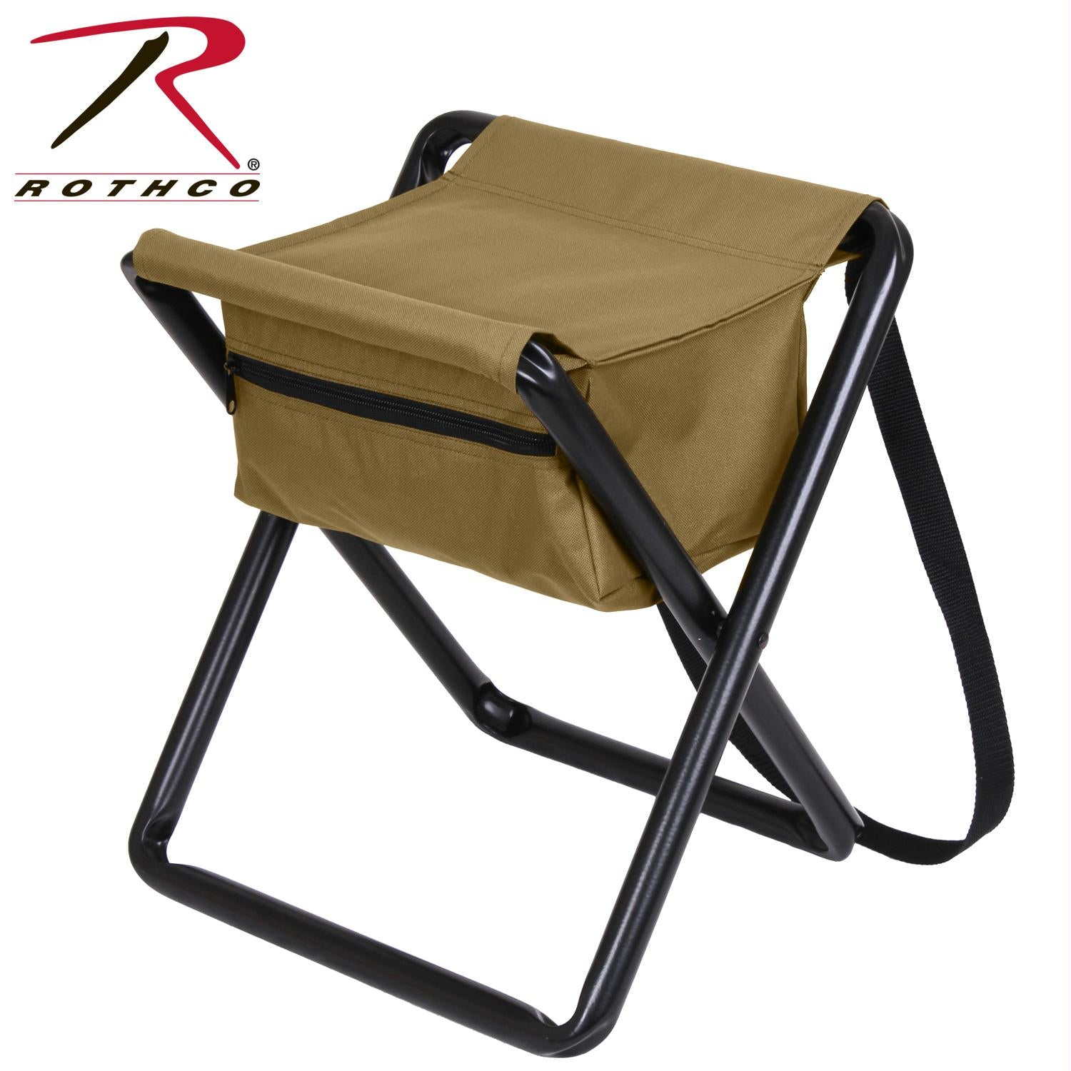 Rothco Deluxe Stool With Pouch - Coyote Brown